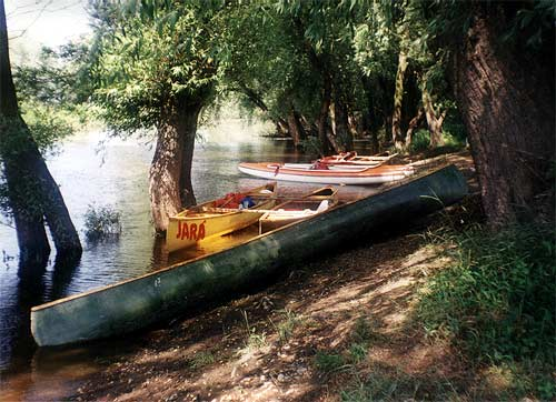 The Morava River rafting