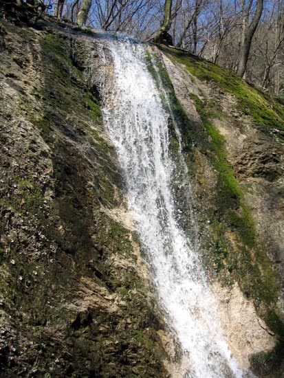 The Waterfall in the Dolina Hlboca Valley