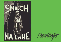 Smiech na lane - cover page of the 4th edition