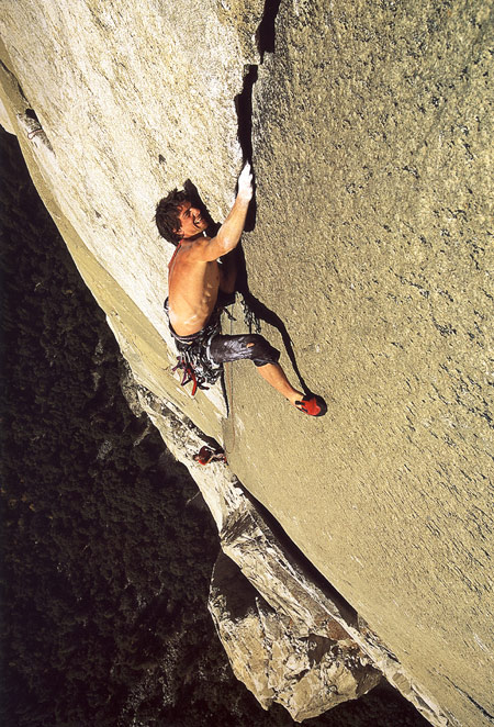 Yosemity: Dean Potter v ceste Boot Flake, Nose na El Capitane