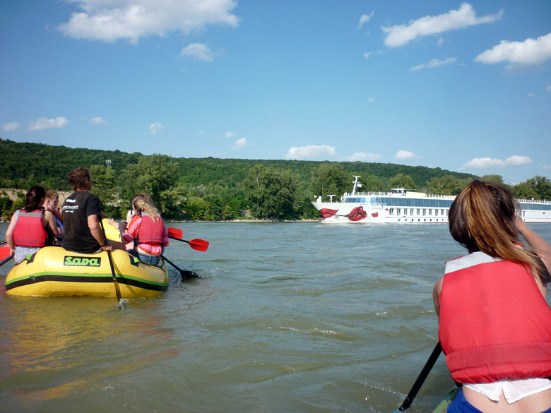 A paddle tour on the Danube River