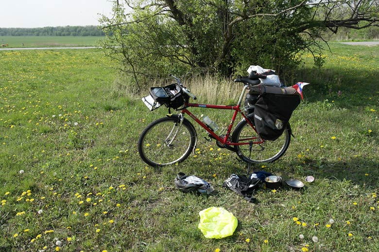 Bicycle tour around Male Karpaty
