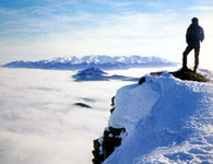 A view from The Choc Hill to the Zapadne Tatry
