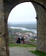 The Gate of the Hainburg Castle
