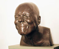 F. X. Messerschmidt: The Character head No 23 - The City Gallery of Bratislava