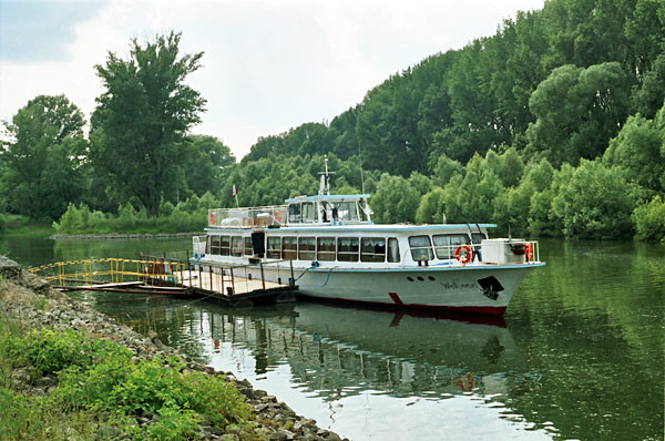 Wellness ship - Patince - the Danube River