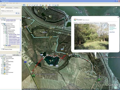 Nahlad programu Google Earth