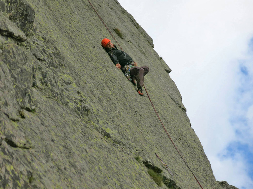 Passionate climbing 27: Relaxation on Osarpance