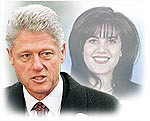 Bill Clinton and Monica Lewinsky